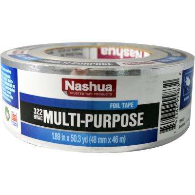 1.89 in. x 50 yd. 322 Multi-Purpose HVAC Foil Tape