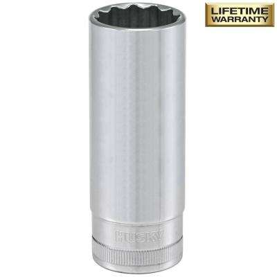 1/2 in. Drive 21 mm 12-Point Metric Deep Socket