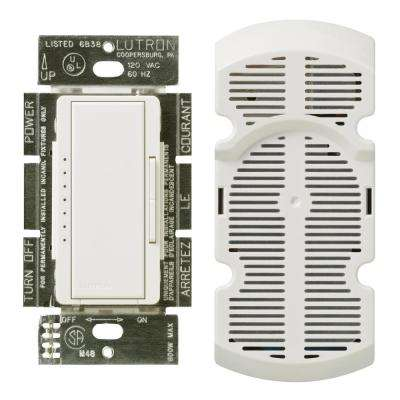 Maestro 1-Amp Multi-Location 7-Speed Fan Control, White