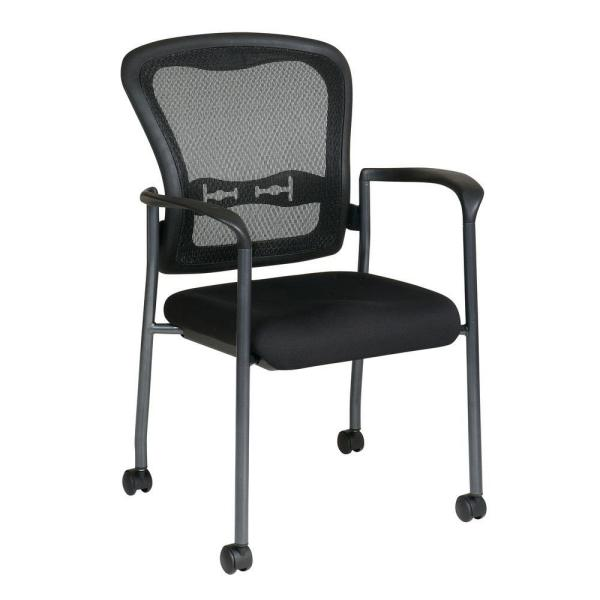 Coal FreeFlex Rolling Visitor Office Chair