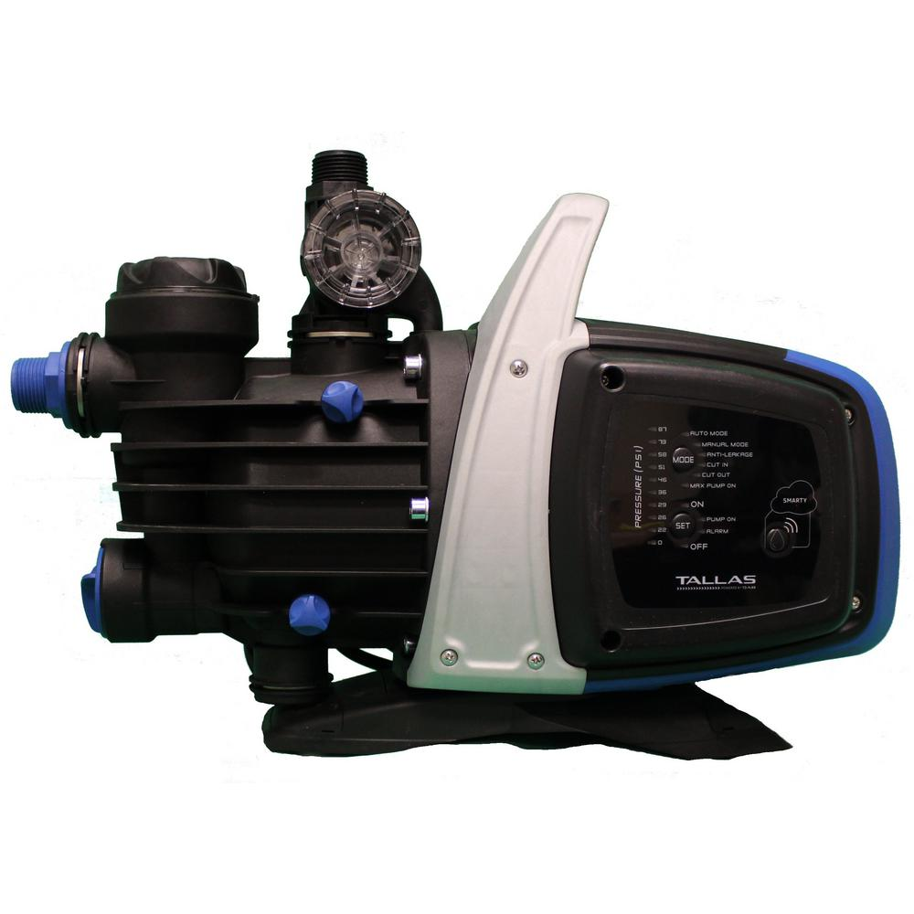 TALLAS TALLAS 3/4 HP 115-Volt Wi-Fi Enabled Electronically Controlled Shallow Well Jet Pump
