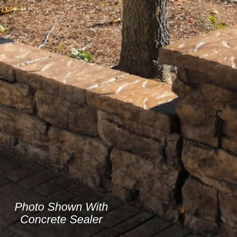 Natural Concrete Products Co 64 In Fossill Brown Outdoor