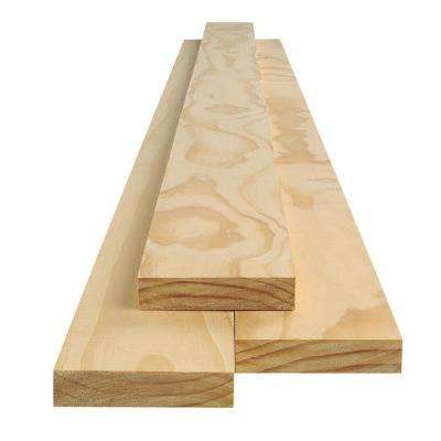 1 in  x 3 in  x 8 ft  Select Pine Board