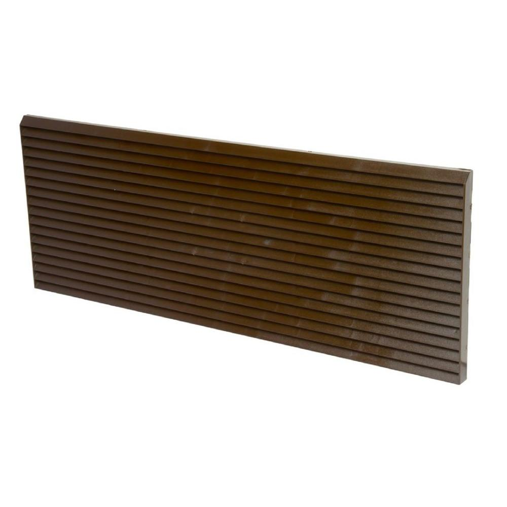PTAC Polymer Architectural Rear Grille in Dark Bronze
