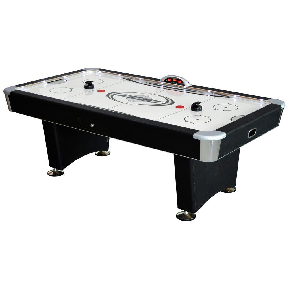 Charming Hathaway Stratosphere 7.5 Ft. Air Hockey Table With Docking Station