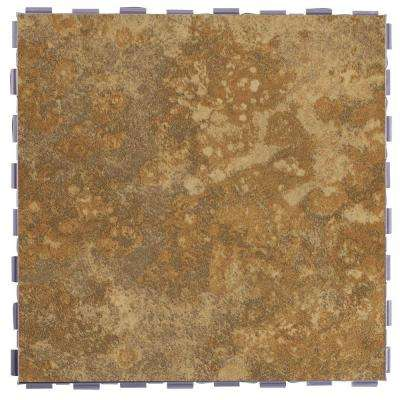 Camel 12 in. x 12 in. Porcelain Floor Tile (5 sq. ft. / case)