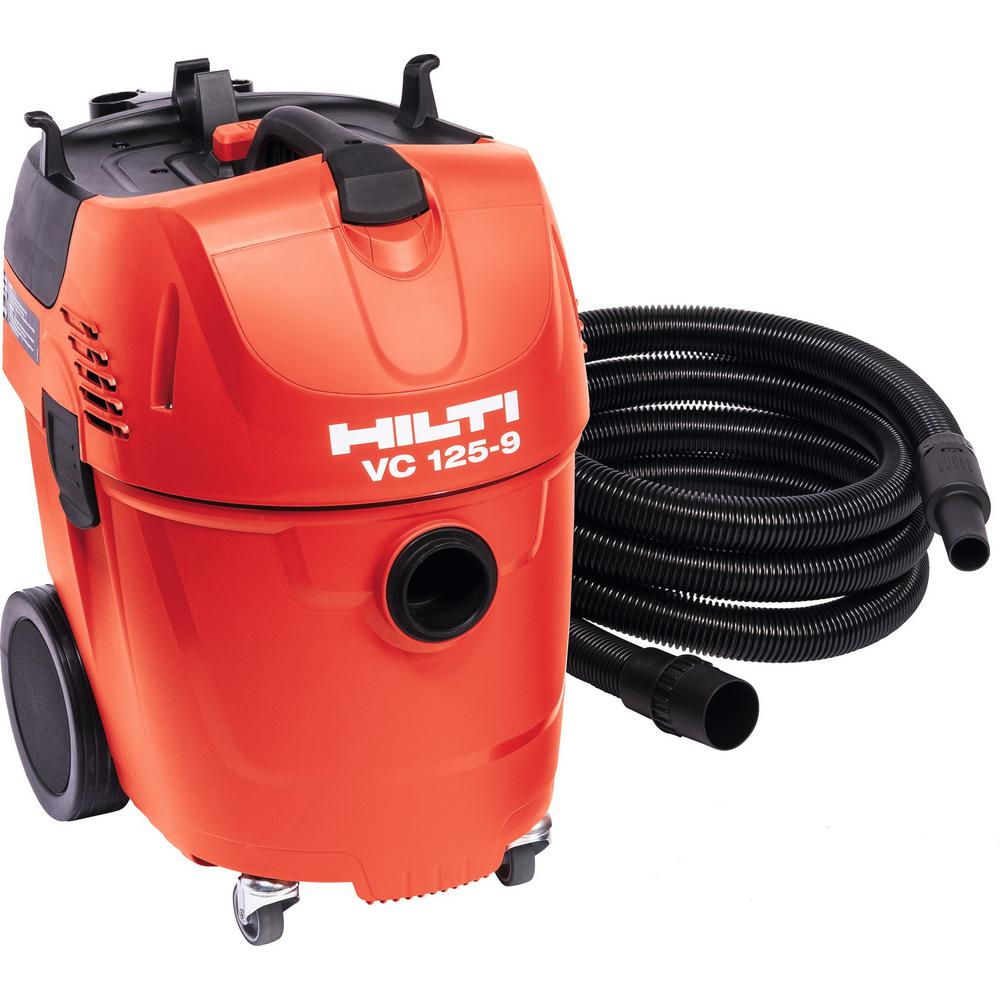 Hilti 16 ft. Hose Universal Vacuum Cleaner VC 125-9 Wet and Dry Vacuum Cleaner
