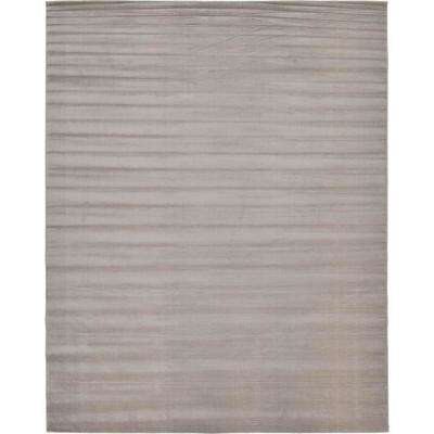 Tribeca Gray 10 ft. x 13 ft. Area Rug