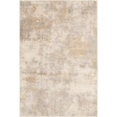Medina Beige 5 ft. x 7 ft. Abstract Area Rug