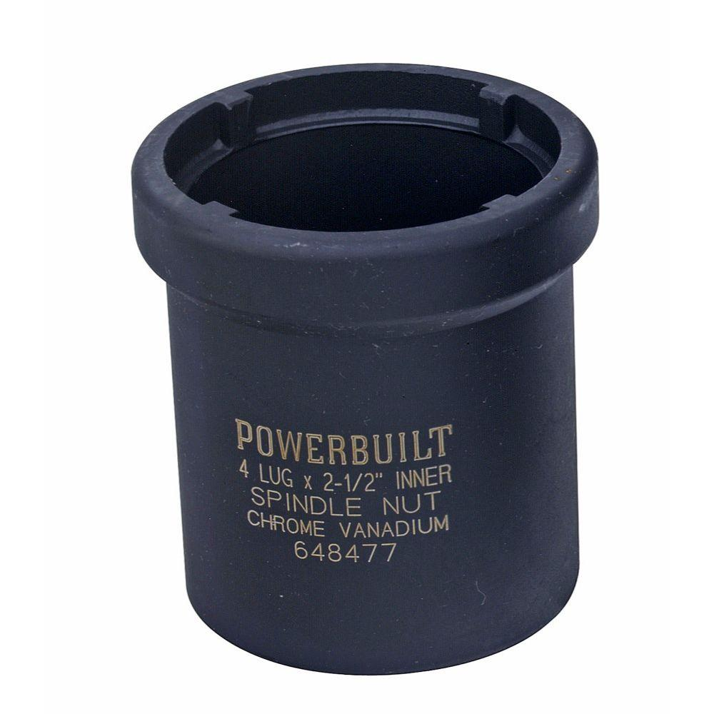 2-1/2 in. 6-Point 4-Outer Lug Spindle Nut Socket