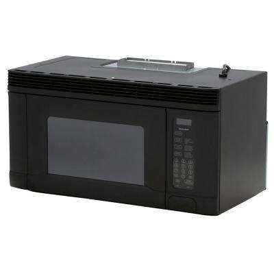 1.4 cu. ft. Over the Range Microwave in Black