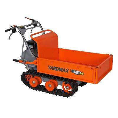 Power Trackbarrow with Gas Shock Assist- Flatbed