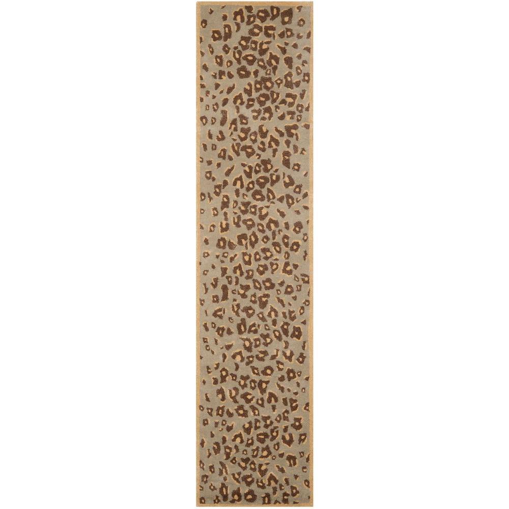 safavieh kalahari horizon sand beige 2 ft 3 in x 10 ft rug runner msr3621b 210 the home depot. Black Bedroom Furniture Sets. Home Design Ideas
