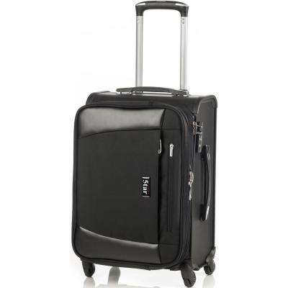 20 in. Jet Black Hybrid Business Cabin Luggage