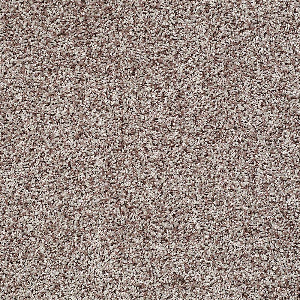 Carpet Sample - Charming - In Color Graham Cracker 8 in. x 8 in.
