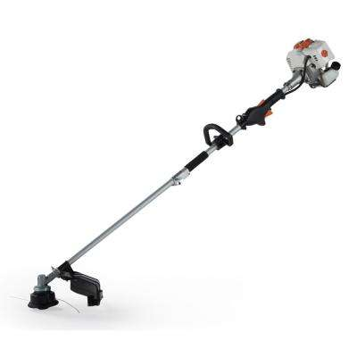 2-Cycle 26 cc Straight Shaft Gas String Trimmer and Brush Cutter