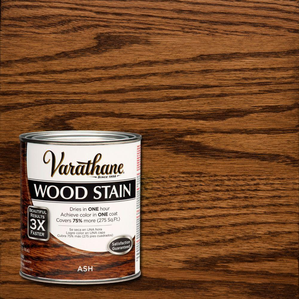 3X Ash Premium Wood Interior Stain (Case Of 2) 271151   The Home Depot