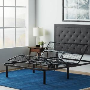 buy online 9acd1 889d4 LUCID Queen Adjustable Bed Base HDLUL100QQAB - The Home Depot