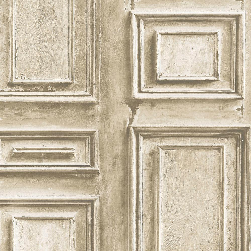 Norwall Wood Panel Wallpaper