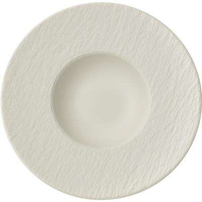 Manufacture Rock Blanc 11-1/2 in. Rim Pasta Bowl