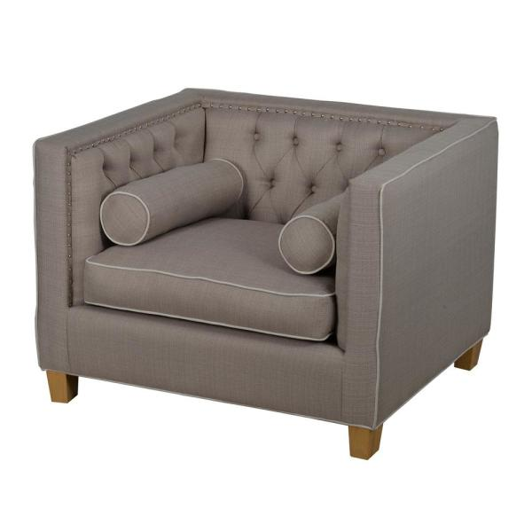 Classic Beige Polyester Sofa