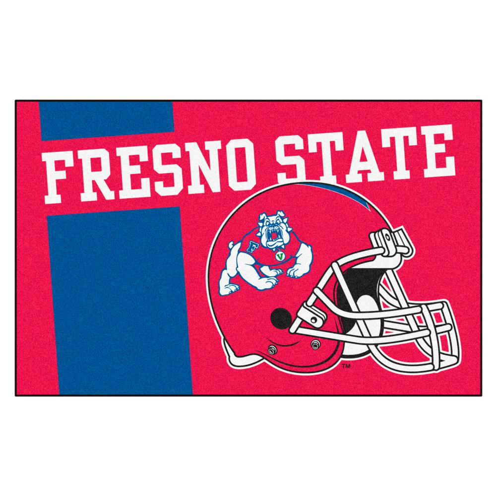 FANMATS NCAA - Fresno State Red 1 ft. 7 in. x 2 ft. 6 in ...
