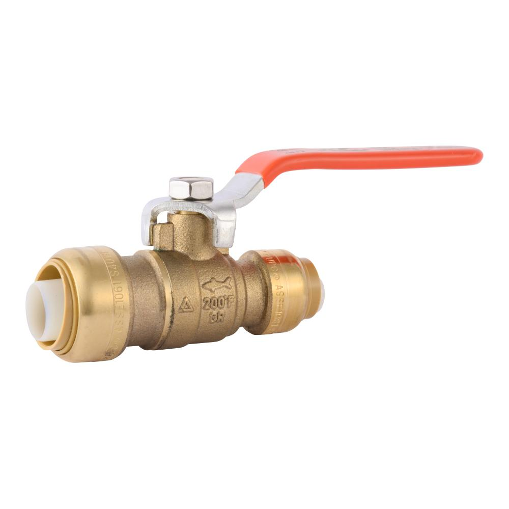 SharkBite SharkBite 3/4 in. x 1/2 in. Push-to-Connect Reducing Ball Valve