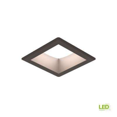Traverse Unlimited 6 in. Painted Antique Bronze Integrated LED Recessed Kit