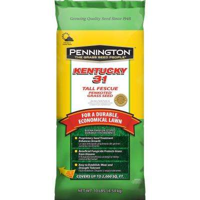10 lbs. Kentucky 31 Tall Fescue Penkoted Grass Seed