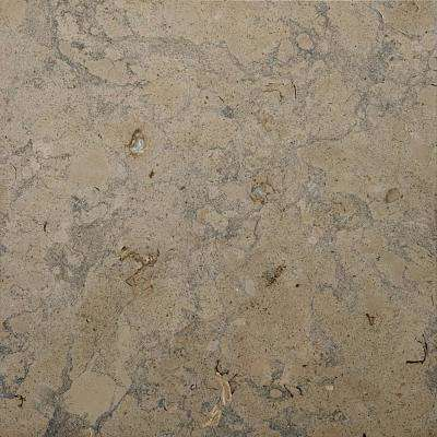 Limestone Jura Stone Beige 12.01 in. x 12.01 in. Limestone Floor and Wall Tile (1.0 sq. ft.)