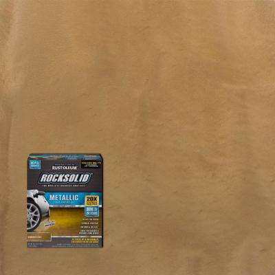 70 oz. Metallic Burnished Gold Garage Floor Kit (Case of 2)