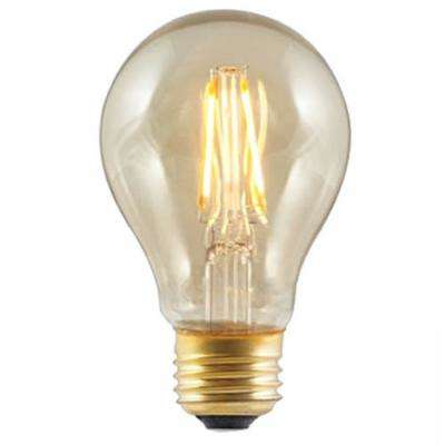 40W Equivalent Soft White A19 Dimmable LED Vintage Style Light Bulb