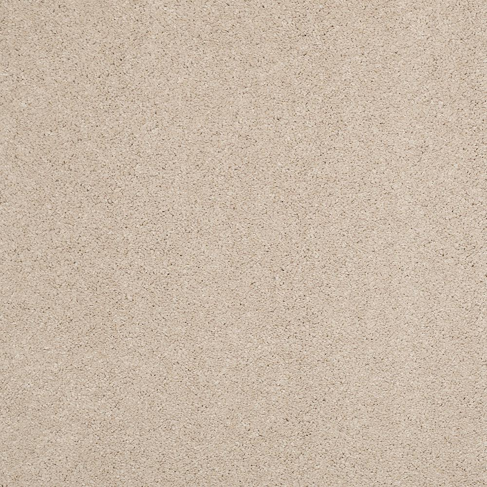 LifeProof Carpet Sample - Coral Reef I - Color Honey Gold Texture 8 in. x 8 in.