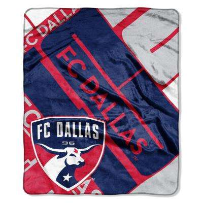 FC Dallas Scramble Raschel Throw
