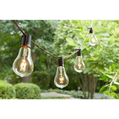 Vintage Style 12-Light Clear String Lights