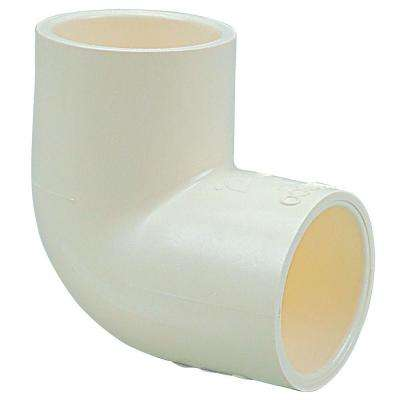 1/2 in. CPVC CTS 90-Degree Slip x Slip Elbow Fitting (10-Pack)