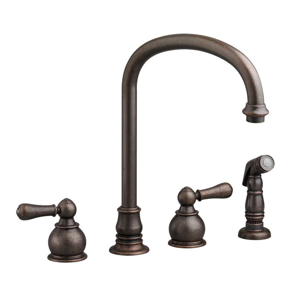 american standard hampton kitchen faucet american standard hampton 2 handle standard kitchen faucet 22889