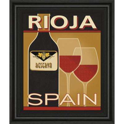 "22 in. x 26 in. ""Rioja"" by Pela Studio Framed Printed Wall Art"