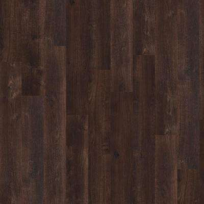 New Liberty 6 mil 6 in. x 48 in. Coffee Resilient Vinyl Plank Flooring (53.93 sq. ft. / case)