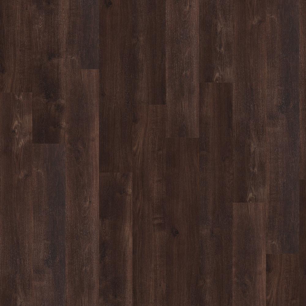 New Liberty 6 mil Coffee 6 in. x 48 in. Glue Down Vinyl Plank Flooring (53.93 sq. ft. case)