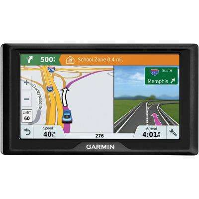 Drive 61 GPS Navigator with Driver Alerts and Live Traffic