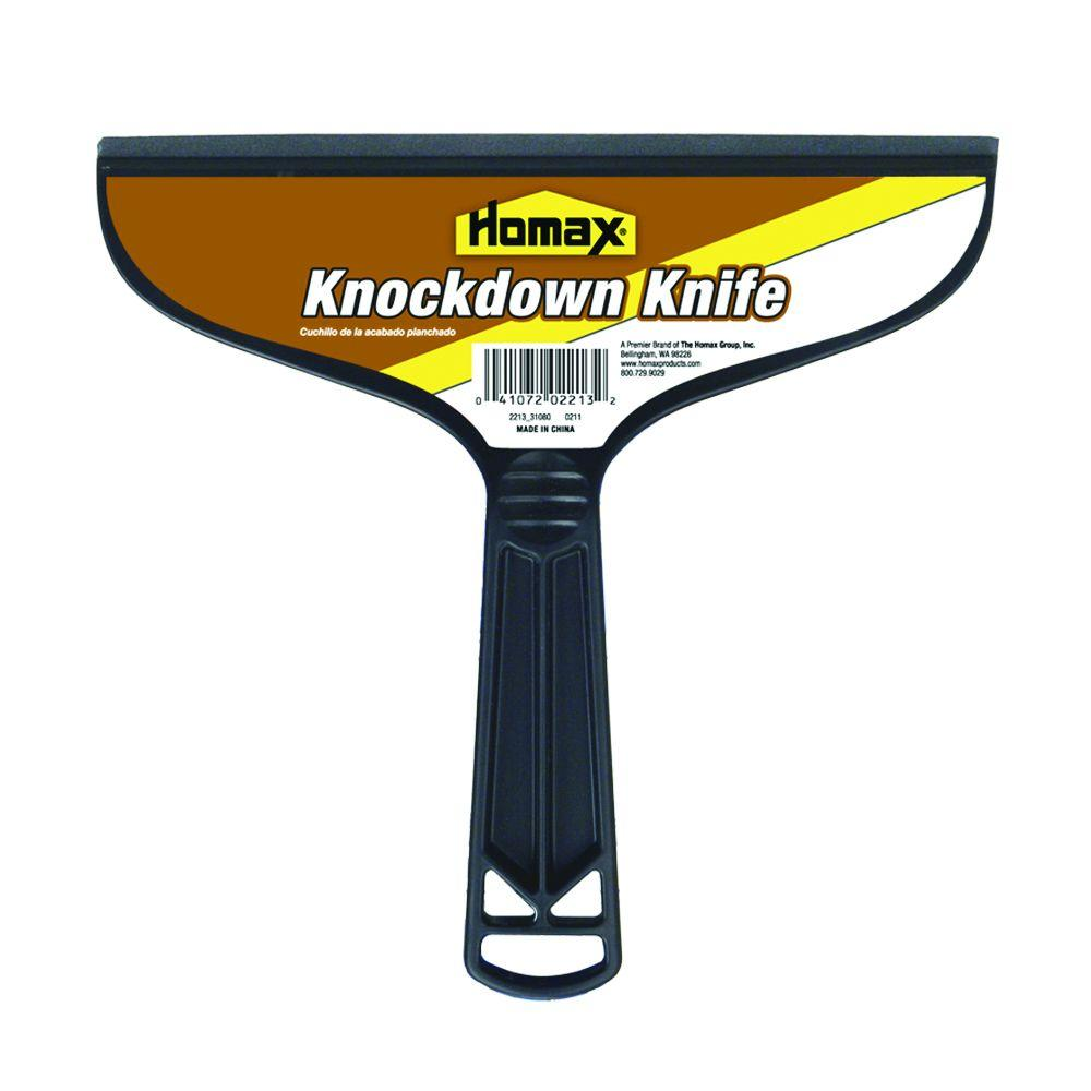 Homax 7 12 in Knockdown Texture Knife 2213 06 The Home Depot