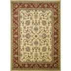 Chester Sultan Ivory 3 ft. x 5 ft. Area Rug