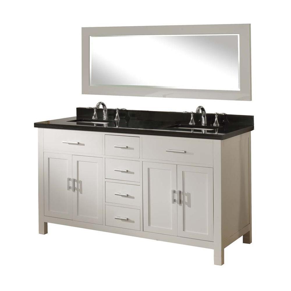 Direct Vanity Sink Hutton Spa 63 In Double Vanity In