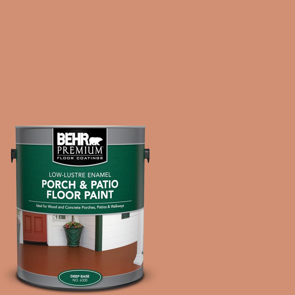 Behr Premium 1 Gal M200 5 Terra Cotta Clay Low Lustre