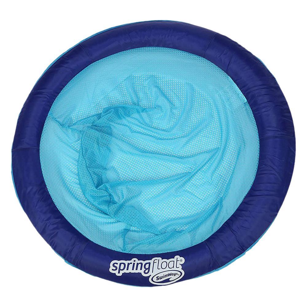 Dark Blue Spring Float Papasan Floating Seat