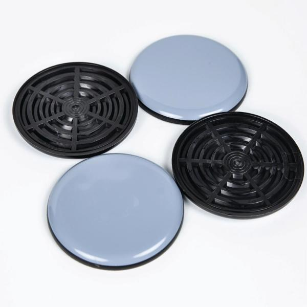 Unbranded 4 In Round Magic Sliders 4 Pack 04100 The Home Depot