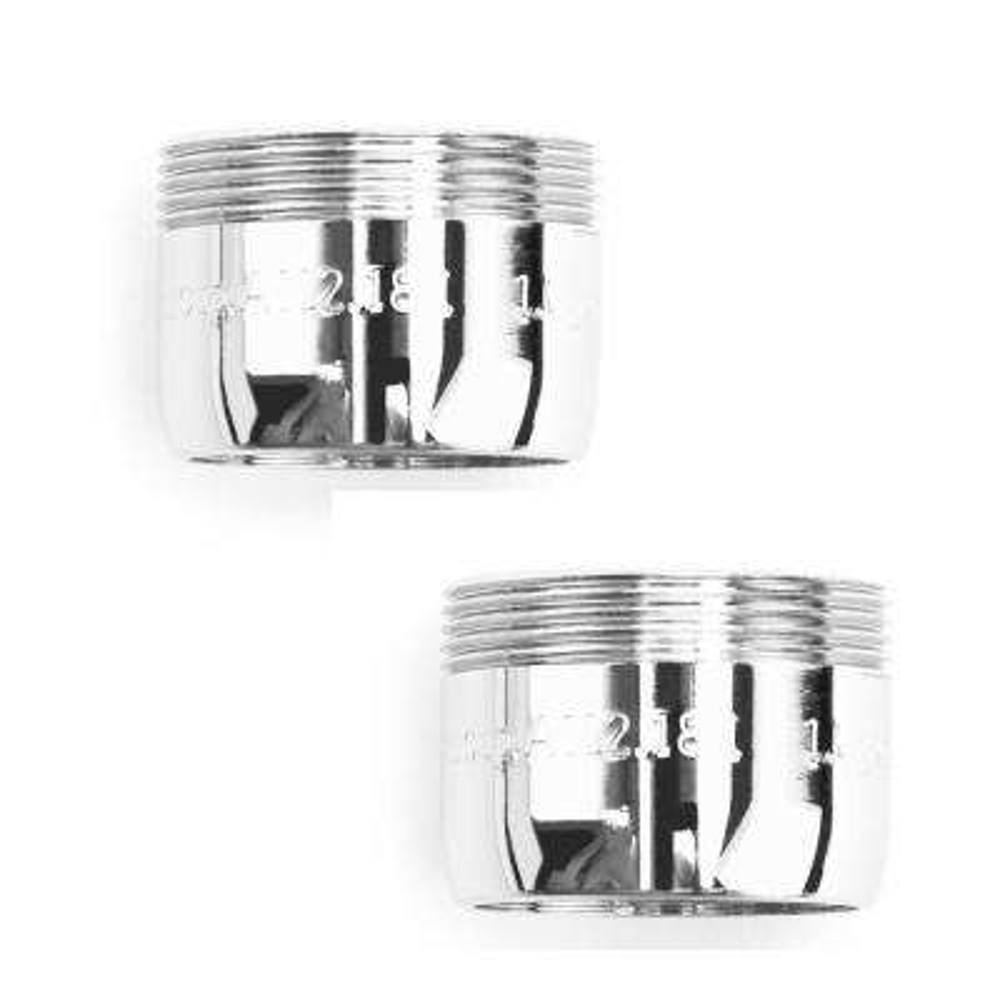 1.5 GPM MasterFIT Water Sense Listed Water Saving Dual Thread WaterSense Bath Aerator, Bubble Spray (2-Pack)