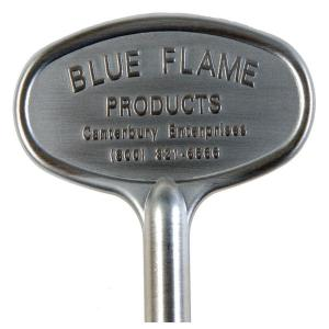 Blue Flame 3 in. Universal Gas Valve Key in Polished Brass-BF.KY ...