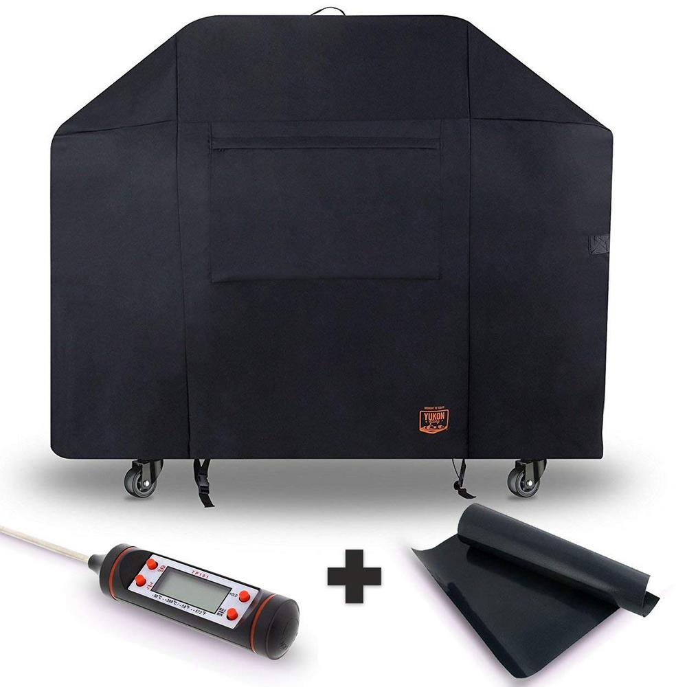Yukon Glory 58 in. x 47 in. x 24 in. Heavy-Duty Cover for Char-Broil 4-Burner Grills